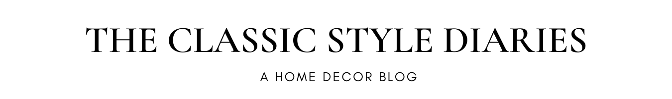 The Classic Style Diaries